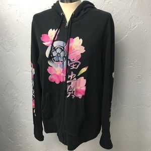 Lucky Brand Vintage Painted ZIP up Jacket